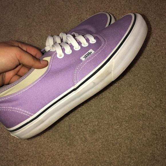 741b3bdd5286 Vans Shoes - Size 8.5 women s lavender vans
